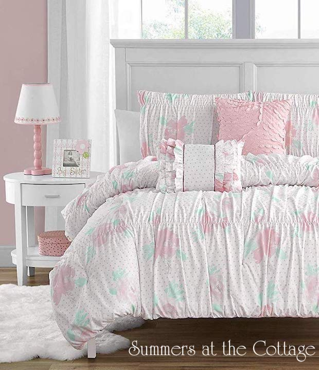 Blissful Cottage Tiffany Roses Bedding