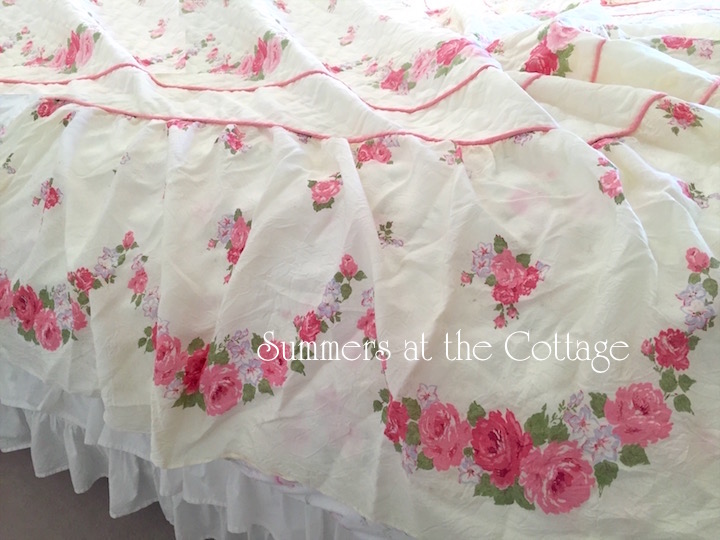 Pink Roses Silk Soft Yellow
