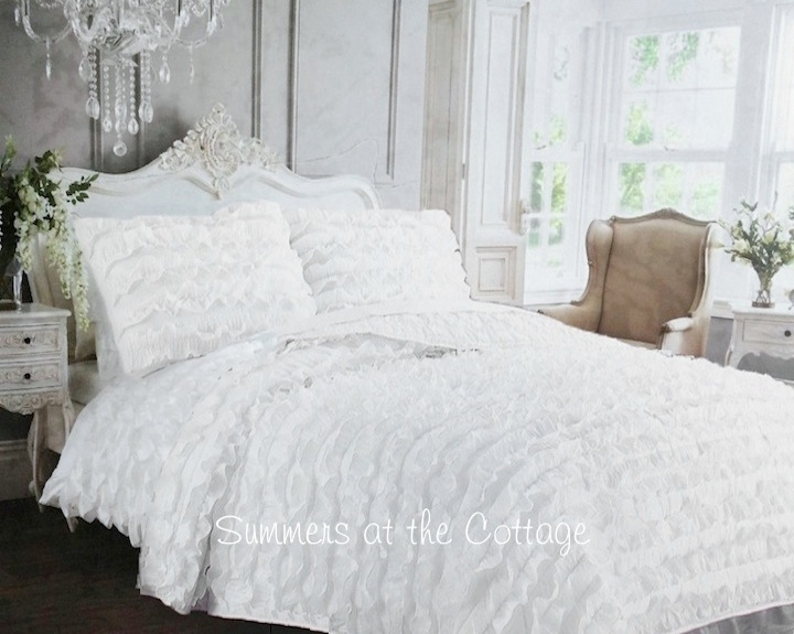 French Chateau Ruffle Bedding