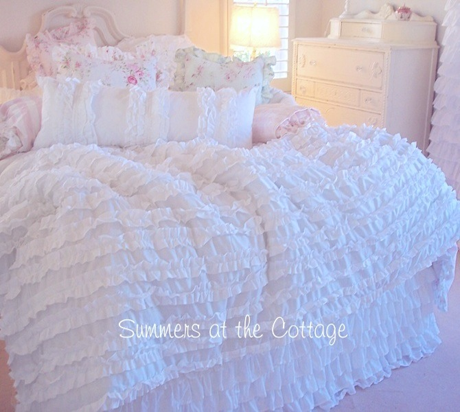 Dreamy Ruffled Bedding