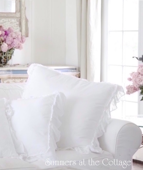 Http Summerscottage Com Images White Pretty Ruffle