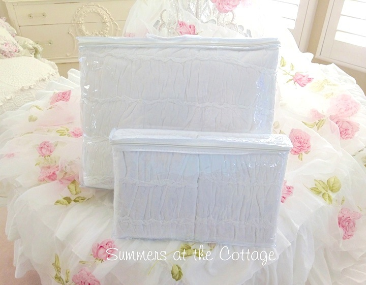 Heavenly White Rag Ruffle Quilt