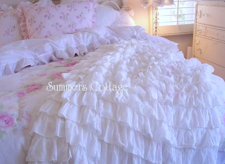 Dreamy White Ruffles
