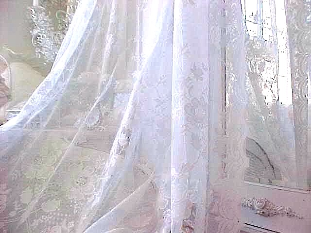 French Lace Netting Curtains