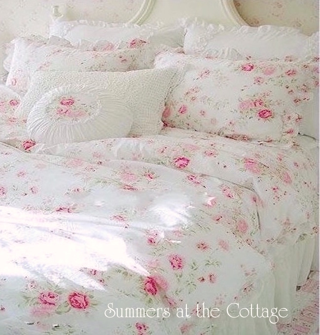 Pink Lavender Wildflowers Bedding
